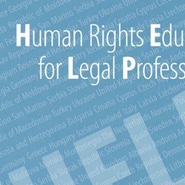 Avropa Şurasının Hüquqşünaslar üçün İnsan Hüquqları Təhsili üzrə Avropa Proqramı (HELP)